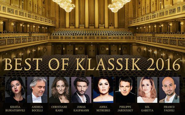 ECHO Klassik - Deutscher Musikpreis, Preisgekrönt! Das Album Best of Klassik 2016 präsentiert die schönsten Aufnahmen der ECHO Klassik-Gewinner