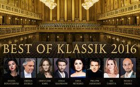 ECHO Klassik - Deutscher Musikpreis, Preisgekrönt! Das Album Best of Klassik 2016 präsentiert ...