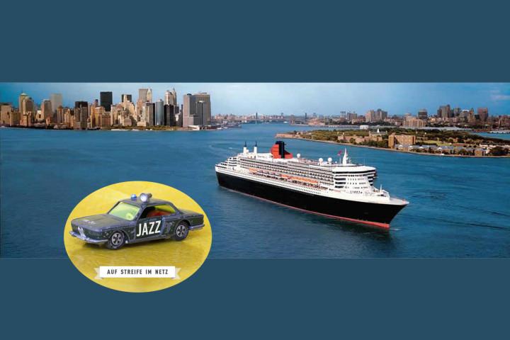 Auf Streife im Netz - Blue-Note-Stars an Bord eines Luxusliners