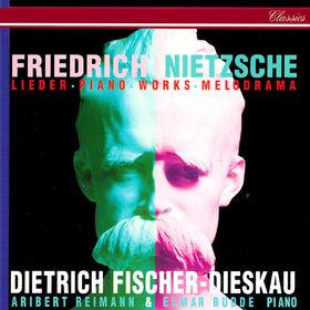 Dietrich Fischer-Dieskau, Nietzsche: Lieder, Piano Works & Melodramas, 00028948310753