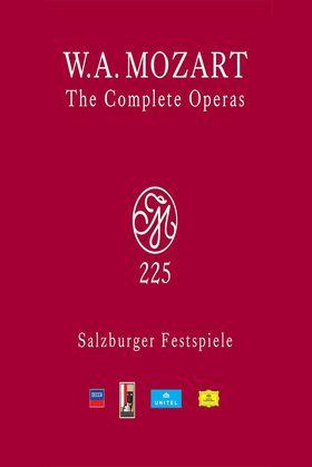 Wolfgang Amadeus Mozart, The Complete Operas (Salzburger Festspiele), 00044007439029