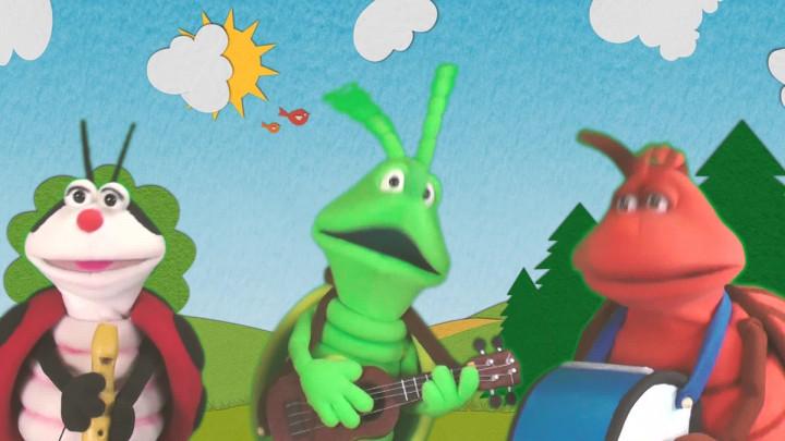 Glühwürmchen und die Musikanten - Titellied
