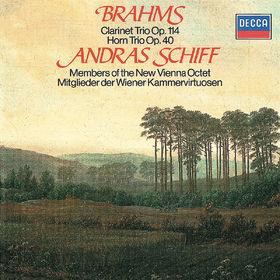 András Schiff, Brahms: Clarinet Trio; Horn Trio, 00028948310050