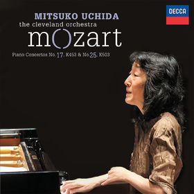 Mitsuko Uchida, Mozart: Piano Concertos No.17, K.453 & No.25, K.503, 00028948307173