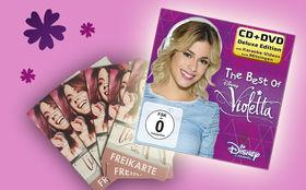Violetta, Gewinnt 3 x 2 Kino-Tickets für TINI - Violettas Zukunft und das Violetta Best-Of