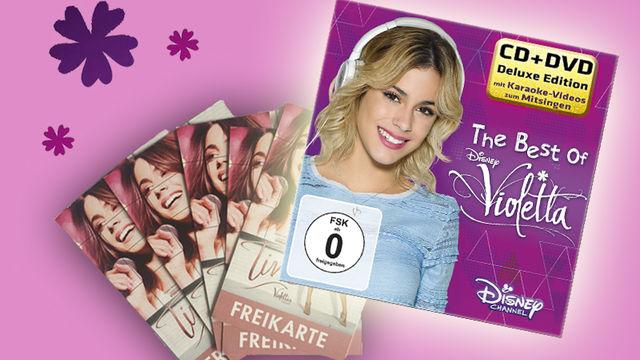 Violetta, Gewinnt eines von drei Violetta-Fanpaketen zum Kinofilm Tini - Violettas Zukunft