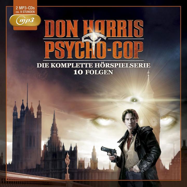 Die komplette Hörspielserie - 10 Folgen (2mp3 CDs)
