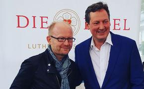 Pop-Oratorium Luther, Dieter Falk stellt seine Albumprojekte zum 500. Jahrestag der Reformation auf der Frankfurter Buchmesse vor