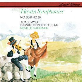 Sir Neville Marriner, Haydn: Symphonies Nos. 86 & 87, 00028948313068