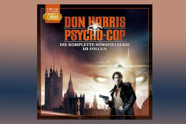Don Harris - Psycho Cop, Don Harris – Psycho Cop: Die komplette Hörspielserie als Box ab 02. Dezember 2016