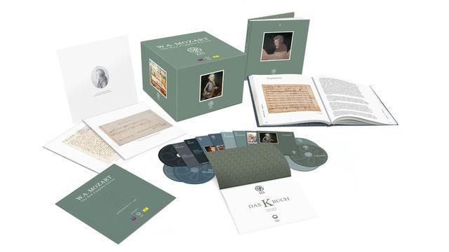 Wolfgang Amadeus Mozart, Mozarts Werk in brillanter Gesamtausgabe - Mozart 225: The New Complete Edition