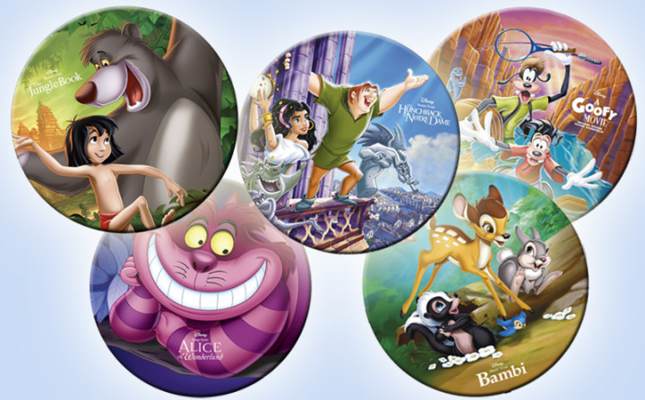 Disney Picture Vinyl Header