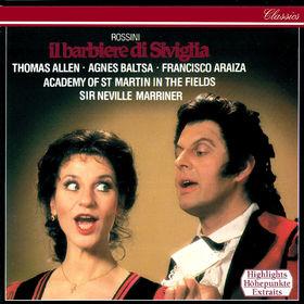 Sir Neville Marriner, Rossini: Il Barbiere di Siviglia (Highlights), 00028948315048