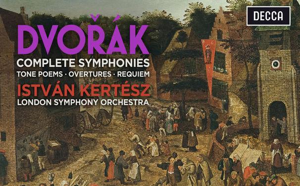 Istvan Kertesz, Musikalisches Porträt: Die gesammelten Dvořák-Aufnahmen unter der Leitung von István Kertész