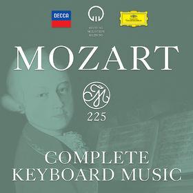 Wolfgang Amadeus Mozart, Mozart 225: Complete Keyboard Music, 00028948311545