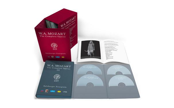 Wolfgang Amadeus Mozart, Prachtausgabe – Alle Mozart-Opern auf DVD