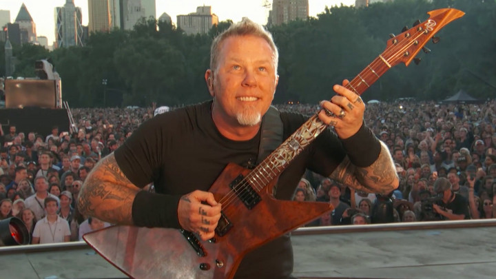 Enter Sandman (Live beim Global Citizen Festival)