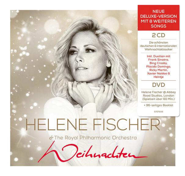 Helene Fischer - Weihnachten (Neue Deluxe-Version mit 8 weiteren Songs) CD+DVD, Box-Set