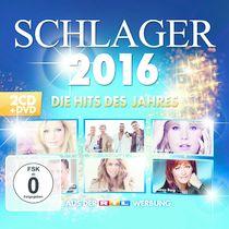 Various Artists, VARIOUS ARTISTS: FISCHER, GABALIER, KAISER, KELLY, MAI U.V.M. | SCHLAGER 2016 - DIE HITS DES JAHRES