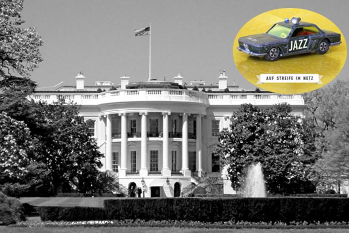 Auf Streife im Netz: Das Weiße Haus