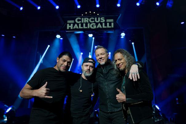 Metallica, Metallica in Berlin: Zu Gast bei Circus HalliGalli und exklusives Live-Erlebnis vor knapp 350 Fans