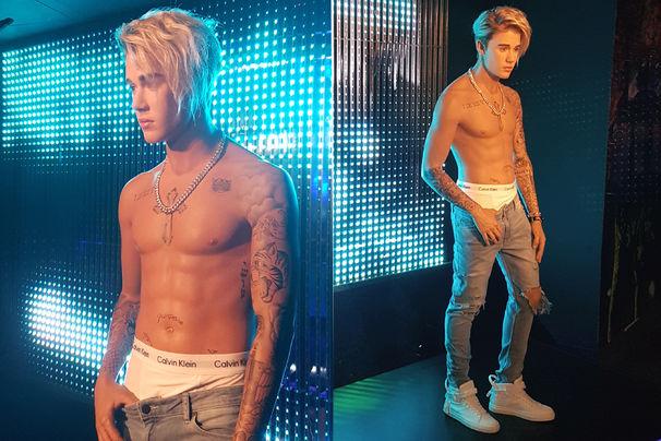 Justin Bieber, Der Vorhang ist gefallen: Justin Biebers Wachsfigur bei Madame Tussauds