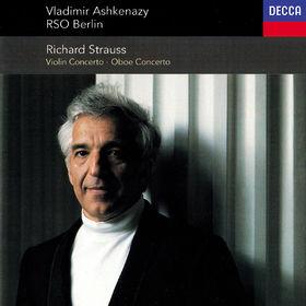 Vladimir Ashkenazy, Richard Strauss: Violin Concerto; Oboe Concerto; Duet-Concertino, 00028948302192