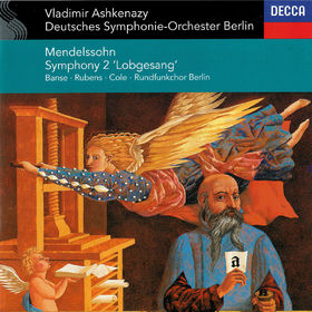 Vladimir Ashkenazy, Mendelssohn: Symphony No. 2 Lobgesang, 00028948313693