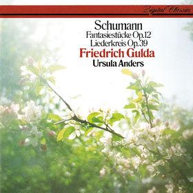 Friedrich Gulda, Schumann: Liederkreis Op. 39; Fantasiestücke Op. 12, 00028948308026