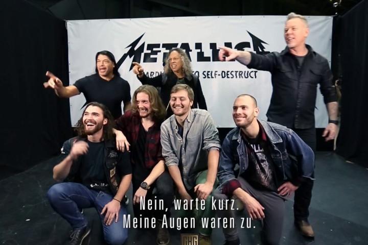 Metallica Video Zu Gast Bei Circus Halligalli Photobomb