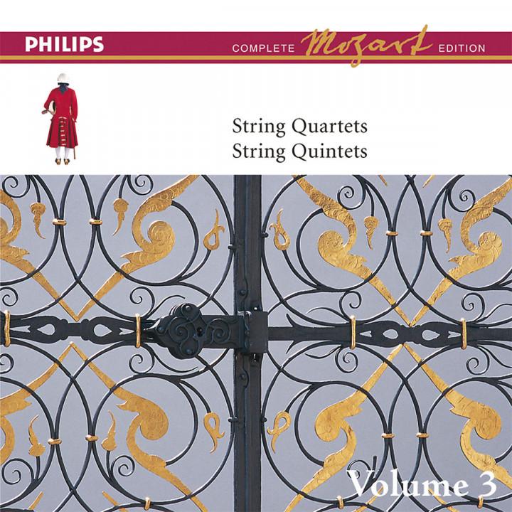 Mozart: The String Quartets, Vol.3