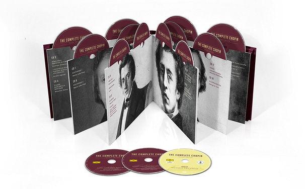 Diverse Künstler, Complete Chopin Deluxe Edition - einzigartige Hommage an den Meister der Tasten