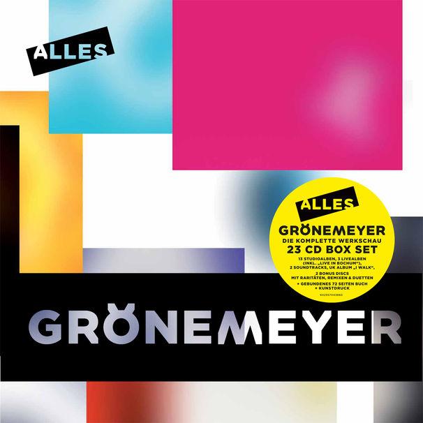 Herbert Grönemeyer, Herbert Grönemeyer veröffentlicht seine erste Karrierewerkschau Alles plus Album Live in Bochum