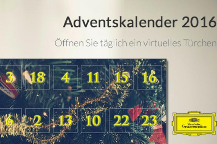 Deutsche Grammophon Adventskalender 2016