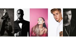 Ariana Grande, Der Streaming-Wettkampf: Spotify enthüllt die meist gestreamten Künstler 2016