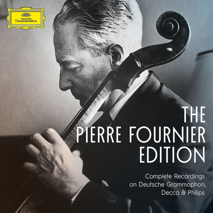 Pierre Fournier Complete Recordings On Deutsche Grammophon, Decca and Philips