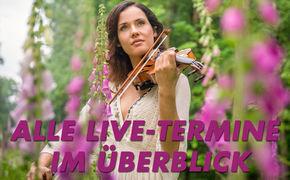 Franziska Wiese, Erlebt Franziska Wiese live!