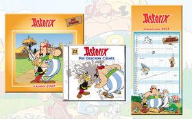 Asterix, Gewinnt 3 x das neueste Hörspiel Das Geschenk Cäsars und zwei tolle Asterix & Obelix Kalender