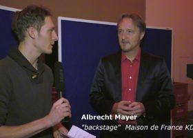 Ein Wintermärchen, Albrecht Mayer im Interview mit musictalks