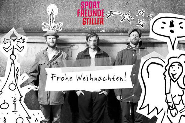Sportfreunde Stiller, Ein Geschenk zum Fest: Verschickt eure Sportfreunde Stiller Weihnachtsgrüße