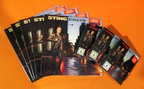 Sting, Großes Gewinnspiel: Wir verlosen das aktuelle Sting-Album 57th & 9th