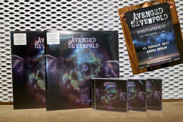Avenged Sevenfold, Tour-Ankündigung und großes Gewinnspiel mit Avenged Sevenfold