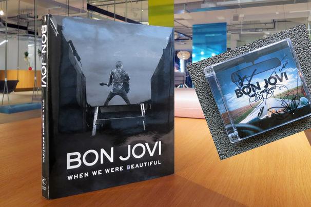 Bon Jovi, Gewinnspiel mit Bon Jovi: Ergattert das große Band-Buch When We Were Beautiful