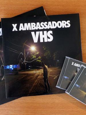 X Ambassadors, Inklusive Autogrammen: Sichert euch das X Ambassadors-Album VHS im CD- oder Vinyl-Format