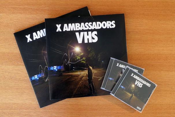 X Ambassadors, Gewinnt das aktuelle X Ambassadors-Album VHS im CD- oder Vinyl-Format