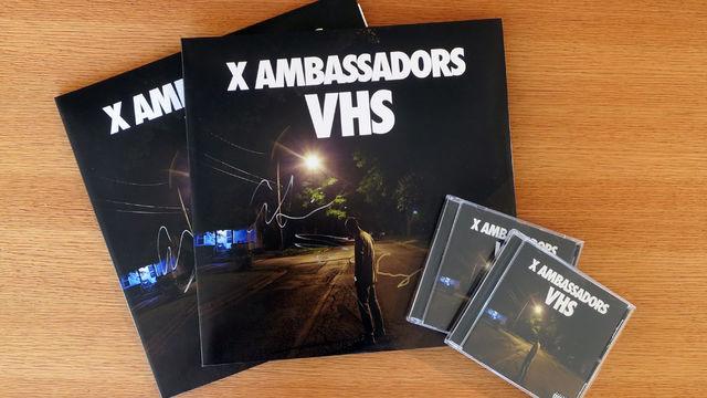 """X Ambassadors - Inklusive Autogrammen: Sichert euch das X Ambassadors-Album """"VHS"""" im CD- oder Vinyl-Format"""