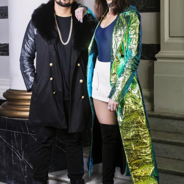Sean Paul und Dua Lipa 2017