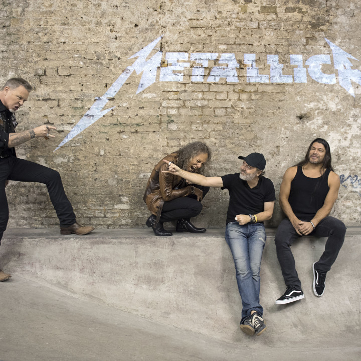 Metallica 2017 by Ross Halfin