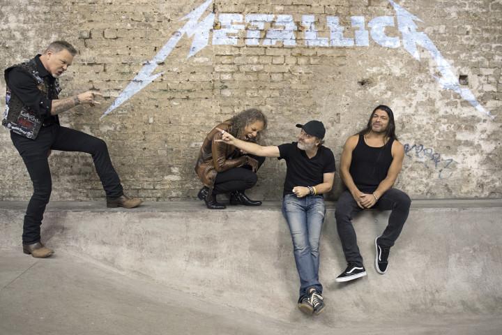 Metallica 2017 by Ross Halfin
