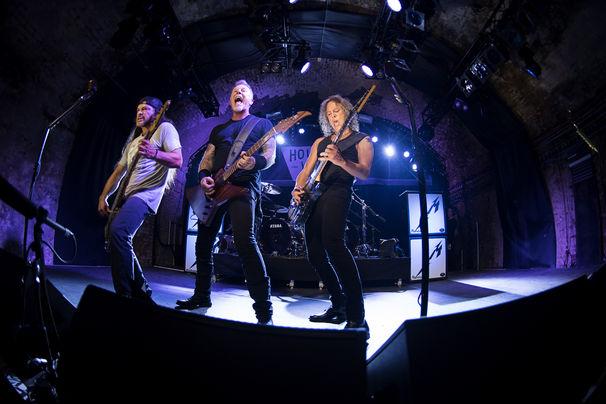 Metallica, Deutschland-Tour: Metallica spielen 2017 und 2018 Konzerte in Europa